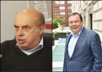 Natan Sharansky (left) and Mikhail Friedman