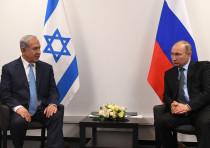 Prime Minister Benjamin Netanyahu and Russian President Vladimir Putin.