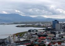 A general view of Reykjavik, Iceland