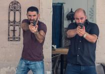 Tzachi Halevy and Lior Raz star in Fauda
