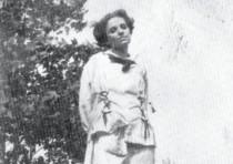 MATILDA RABINOWITZ, seen here circa 1912
