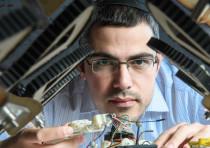 Dr. David Zarrouk and his robots