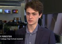 New York student Benjy Firester