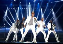 The Backstreet Boys in concert, Rishon LeZion, April 22, 2018.