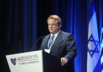 Gordon Robertson, CEO, Christian Broadcasting Network at the 7th Annual JPost Conference in NY