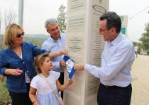 Sergio Castelbolognesi, Ambassador Gianluigi Benedetti and his family.