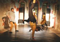 n JAMD student dance project Body-Place- Dance, Jerusalem choreographers created pieces relevant to