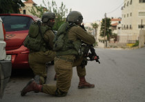 IDF soldiers during activities in the West Bank