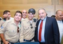 Special in Uniform Salutes the IDF Netanyahu Salutes Special in Uniform, June 19, 2018.