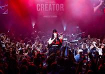 2018 Eurovision winner, Israeli Neta Barzilai, performed for the WeWork Creator Awards ceremony in J