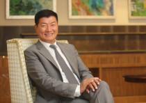 Tibetan President-in-exile Lobsang Sangay