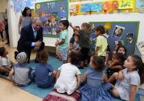 Prime Minister Benjamin Netanyahu visits Sderot, July 16, 2018