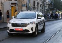 Israel police car (Illustrative)