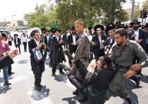 Haredi demonstrations in Jerusalem August 2nd, 2018