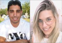 West Bank shooting victims Kim Yehezkel (29), Ziv Hajbi (35)