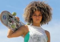 Paola Ruiloba, co-founder of the Jerusalem Skater Girls.