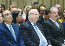 President Reuven Rivlin meets with members of the Christian media