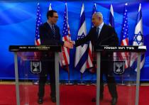 Prime Minister Benjamin Netanyahu meets Treasury Secretary Steven Mnuchin, October 21, 2018