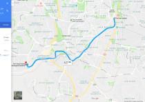 Jerusalem Bicycle Google Maps