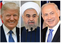 Trump, Rouhani and Netanyahu