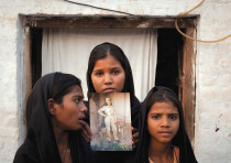THE DAUGHTERS of Asia Bibi, a Christian woman who has been persecuted by Pakistan's extremist