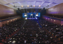 Thousands of people attended the 2018 OurCrowd summit in Jerusalem