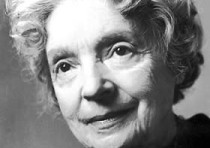 Photo of Nelly Sachs, 1966.