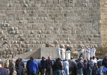 A new altar fit for the Temple was dedicated outside the walls of the Old City of Jerusalem, Decembe