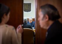 Prime Minister Benjamin Netanyahu at a weekly cabinet meeting, December 16th, 2018