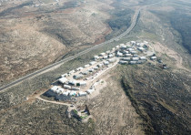 The Asa'el outpost in the southern Hebron hills