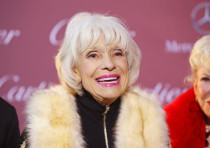 Comedian Carol Channing poses at the 26th Annual Palm Springs International Film Festival Awards Gal