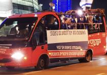 Labor's Shabbat bus