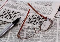 Crossword puzzle [Illustrative].