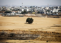 A general view picture shows the Bedouin city of Rahat, southern Israel July 17, 2017. Picture taken