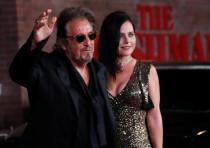 "Cast member Al Pacino arrives for the premiere of film ""The Irishman"", in Los Angeles, California, U"