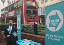 YOSEF DAVID, the Brexit Party's Jewish candidate.
