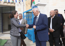 The EU, Denmark and the Palestinian Authority inaugurate multipurpose buildings in Area C villages