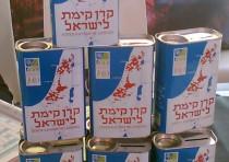 """Blue Box"", charity (tzedakah) box of the Jewish National Fund, model 2006"