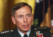 Then US Army Gen. David Petraeus at an event in the White House, April, 2011