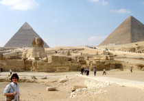 THE FAMOUS Egyptian pyramids are a perfect example of ancient Egypt's power and spiritual decay