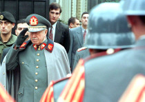 CHILEAN GENERAL Augusto Pinochet (in 1973) is one of various historical figures who make appearances