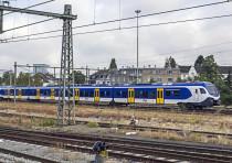 A Nederlandse Spoorwegen train.