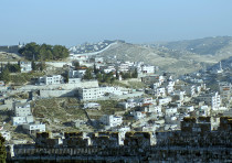 A PANORAMIC view of east Jerusalem.