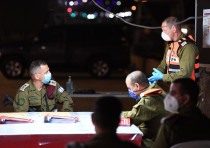 IDF Chief of Staff Lt.-Gen. Aviv Kochavi visits Bnei Brak