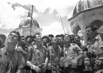 Paratroopers at the Temple Mount, 1967