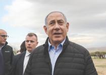 PRIME MINISTER Benjamin Netanyahu visits the Jordan Valley community of Mevo'ot Yericho in February