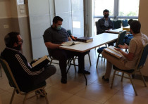 Students at Yeshivat Migdal HaTorah return to in-person classes as coronavirus regulations lifted