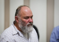 Effi Eitam, seen at the Jerusalem Supreme Court during a hearing on oil searching in the Golan Heigh