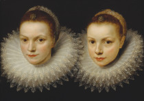 'Two sisters,' Finnish National Gallery