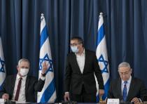 Israeli prime minister Benjamin Netanyahu and Alternate Prime Minister and Minister of Defense Benny